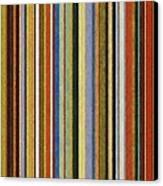 Comfortable Stripes V Canvas Print by Michelle Calkins