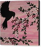 Coming Home To Roost Canvas Print by Cathy Jacobs