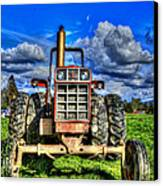 Coming Out Of A Heavy Action Tractor Canvas Print