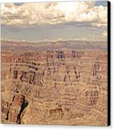 Coming Out Of The Canyon Canvas Print by BandC  Photography