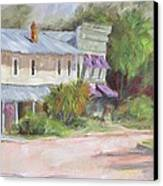 Commerce Street Apalach Canvas Print by Susan Richardson