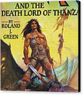 Conan And The Death Lord Of Thanza 1997 Canvas Print by The Advertising Archives