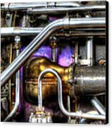 Concord Engine Hdr Canvas Print by SteveHPhotos