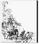 Concord: Minutemen, 1775 Canvas Print by Granger