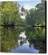 Concord River Canvas Print by Nancy Landry