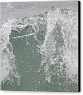 Confused Water Canvas Print by Kiros Berhane