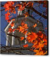Connecticut Fall Colors Canvas Print by Jeff Folger