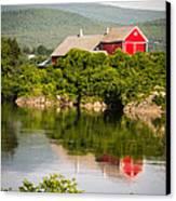 Connecticut River Farm Canvas Print