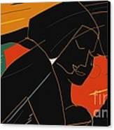 Consoling Canvas Print by Vilas Malankar