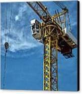 Construction Crane Asia Canvas Print