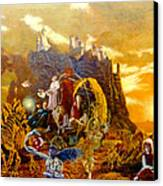 Constructors Of Time Canvas Print by Henryk Gorecki