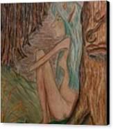 Contemplation Canvas Print by Carrie Viscome Skinner