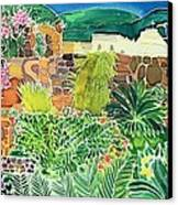 Convent Gardens Antigua Canvas Print