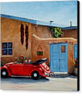 Cool Ride Canvas Print by Mary Giacomini