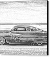 Cool Stance Canvas Print by Thomas  MacPherson Jr