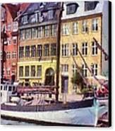 Copenhagen Canvas Print by Jeff Kolker