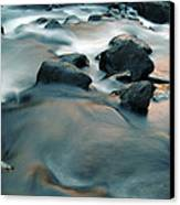 Copper Stream 1 Canvas Print by Roger Snyder