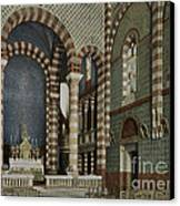 Coptic Church, Cairo, Egypt, 1906 Canvas Print by Getty Research Institute