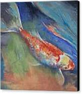 Coral And Moonstone Canvas Print by Michael Creese