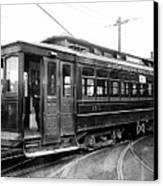 Corbin Park Street Car No. 175 - 1915 Canvas Print