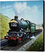 Cornish Riviera To Paddington. Canvas Print by Mike  Jeffries