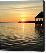 Corolla Sunset Canvas Print by Brenda Schwartz