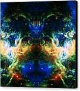 Cosmic Reflection 2 Canvas Print