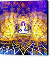 Cosmic Spiral Ascension 18 Canvas Print by Derek Gedney