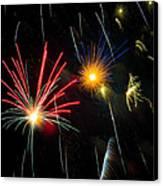 Cosmos Fireworks Canvas Print