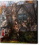 Cottage - Cranford Nj - Autumn Cottage  Canvas Print