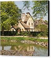 Cottage In The Hameau De La Reine Canvas Print
