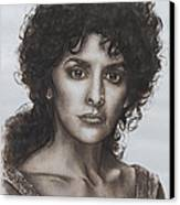 counselor Deanna Troi Star Trek TNG Canvas Print by Giulia Riva