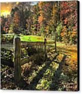 Country Dawn Canvas Print