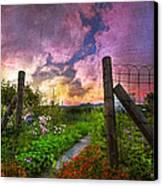 Country Garden Canvas Print