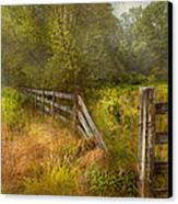 Country - Landscape - Lazy Meadows Canvas Print by Mike Savad