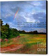 Country Rainbow Canvas Print