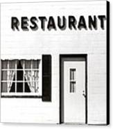 Country Restaurant Canvas Print