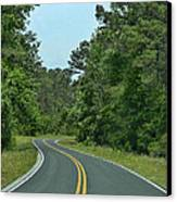 Country Road Canvas Print by Victor Montgomery
