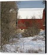 Country Winter Canvas Print