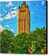 County Courthouse Canvas Print by Dan Quam