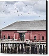 Coupeville Wharf Canvas Print by Jeff Swanson