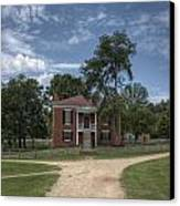 Courthouse At Appomattox Court House Canvas Print by Stephen Gray
