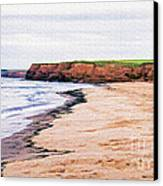 Cousins Shore Prince Edward Island Canvas Print by Edward Fielding