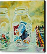 Craft Room Pickles Canvas Print