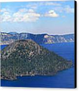 Crater Lake Canvas Print by Melisa Meyers