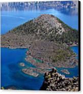 Crater Lake National Park Canvas Print by Qing Yang