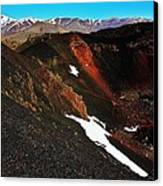 Craters Of The Moon Canvas Print by Benjamin Yeager