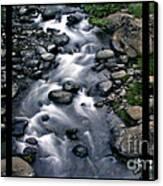 Creek Flow Polyptych Canvas Print