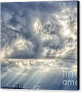 Crepuscular Rays Canvas Print by Thomas R Fletcher