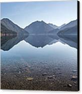 Crescent Lake Reflection Canvas Print by Pierre Leclerc Photography